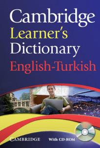 CAMBRIDGE LEARNER S DICTIONARY (+ CD-ROM) ENGLISH-TURKISH PB