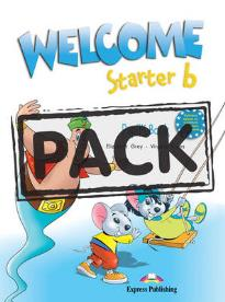 WELCOME STARTER B STUDENT S BOOK (+DVD)