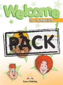 WELCOME TO AMERICA 1 STUDENT S BOOK (+DVD)