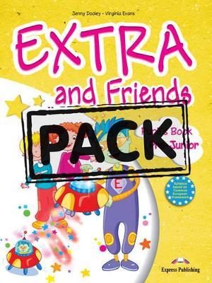 EXTRA & FRIENDS PRE-JUNIOR (+ALPHABET+MULTI-ROM+ieBOOK)