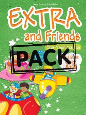 EXTRA & FRIENDS JUNIOR A+B STUDENT S BOOK (+ALPHABET+MULTI-ROM+ieBOOK)