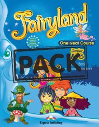FAIRYLAND JUNIOR A & B STUDENT S BOOK (+ALPHABET+DVD+ieBOOK)