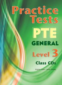 PRACTICE TESTS PTE GENERAL 3 CLASS CDs(3)
