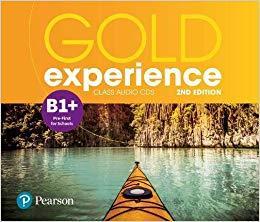GOLD EXPERIENCE B1+ CD CLASS 2ND ED