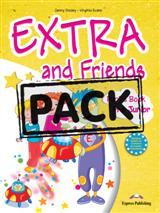 EXTRA & FRIENDS PRE-JUNIOR POWER PACK (STUDENT S+WORKBOOK+ALPHABET+MULTI-ROM+ieBOOK)