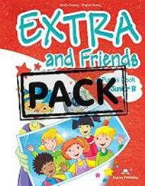 EXTRA & FRIENDS JUNIOR B POWER PACK (STUDENT S+WORKBOOK+VOC. & GRAM. PRACT.+MULTI-ROM+ieBOOK)