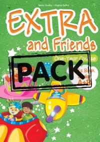 EXTRA & FRIENDS JUNIOR A+B POWER PACK (STUDENT S+WKBK+VOC. & GRAM. PRACT.+ALPHABET+DVD+ieBOOK)
