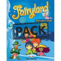 FAIRYLAND JUNIOR A & B POWER PACK (ST/BK+WORKBOOK+ALPHABET+VOC. & GRAMMAR PRACTICE+CD+DVD+ieBOOK)
