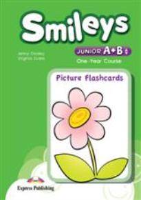 SMILEYS JUNIOR A & B PICTURE FLASHCARDS