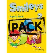 SMILEYS 2 STUDENT S BOOK  PACK (+CD-ROM+ieBOOK+Let s Celebrate 2)