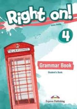 RIGHT ON ! 4 GRAMMAR (+ DIGIBOOKS APP) INTERNATIONAL EDITION