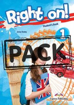 RIGHT ON ! 1 JUMBO PACK WITH ENGLISH GRAMMAR