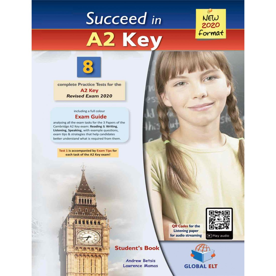 SUCCEED IN A2 KEY 8 PRACTICE TESTS SELF STUDY EDITION NEW 2020 FORMAT