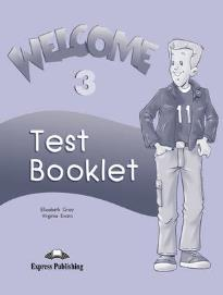 WELCOME 3 TEST BOOK