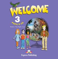 WELCOME 3 PUPIL S CD