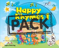 HAPPY RHYMES 1 STUDENT S BOOK (+CD+DVD)