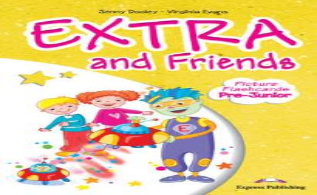 EXTRA & FRIENDS PRE-JUNIOR FLASHCARDS