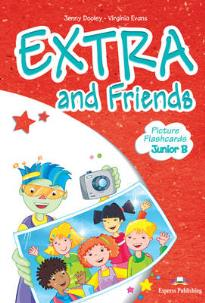 EXTRA & FRIENDS JUNIOR B FLASHCARDS
