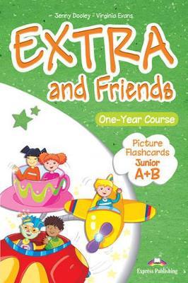 EXTRA & FRIENDS JUNIOR A+B FLASHCARDS