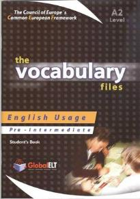 VOCABULARY FILES A2 STUDENT S BOOK