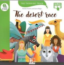 The Thinking Train THE DESERT RACE - READER + ACCESS CODE (THE THINKING TRAIN) D