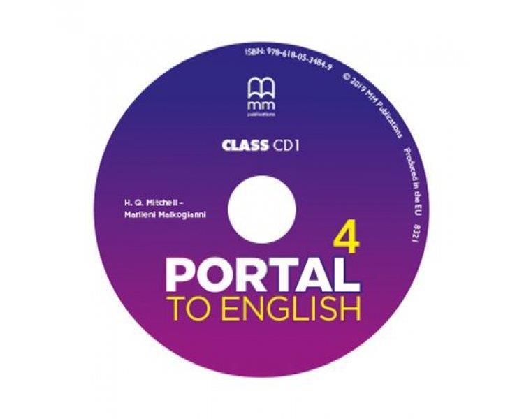 PORTAL TO ENGLISH 4 CD CLASS