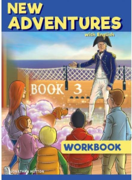 NEW ADVENTURES WITH ENGLISH 3 WB