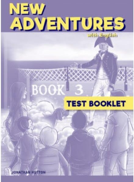 NEW ADVENTURES WITH ENGLISH 3 TEST