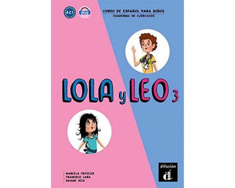 LOLA Y LEO 3 EJERCICIOS