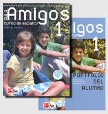 Aula Amigos 1. Pack alumno (Libro + CD + Portfolio)