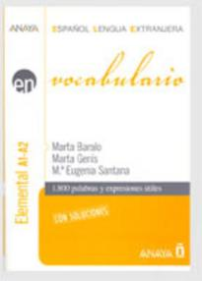 EN VOCABULARIO ELEMENTAL A1-A2 (+CD)