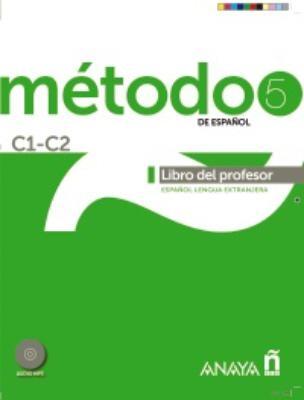 METODO DE ESPANOL 5 C1-C2 PROFESOR (+ DVD)