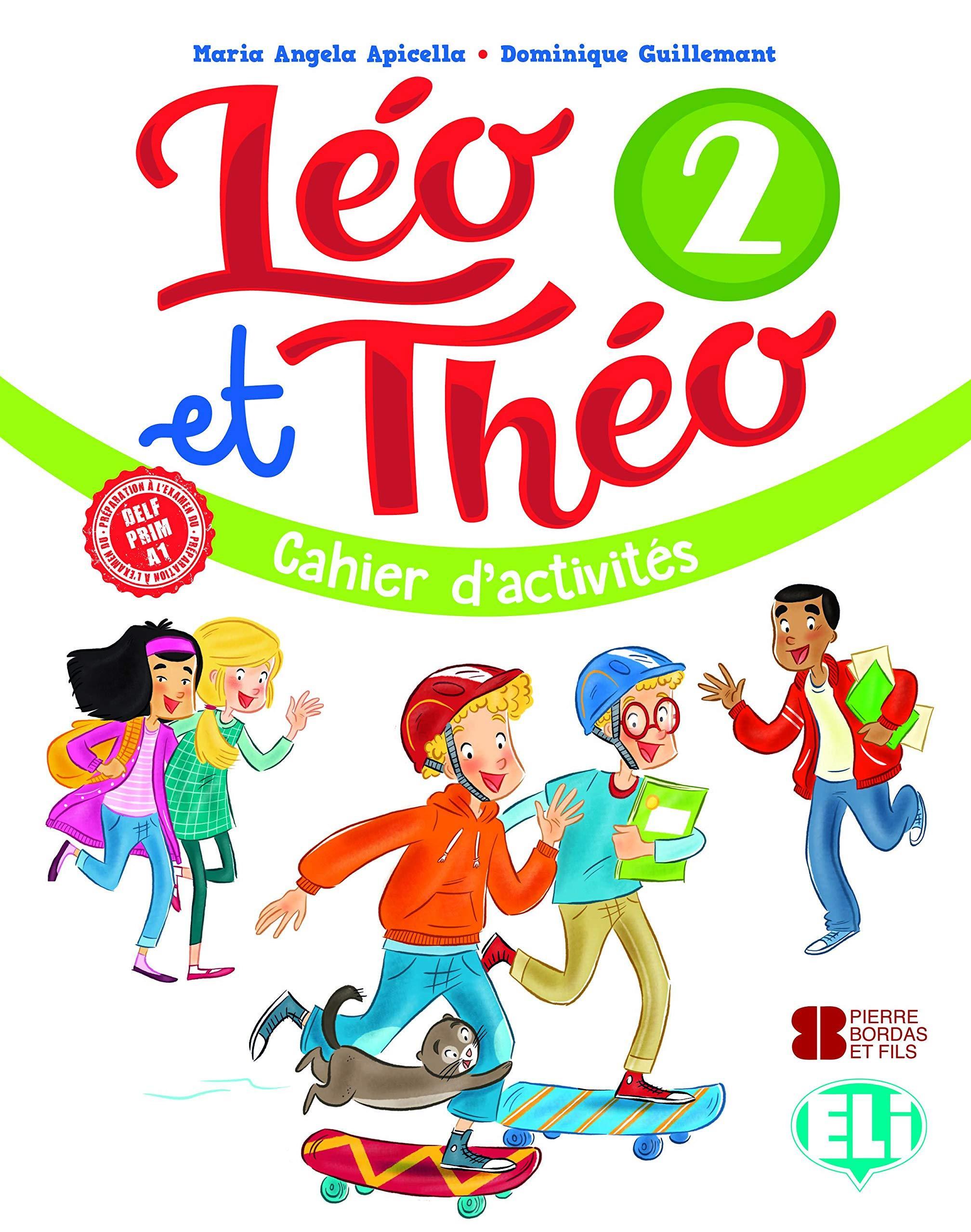 LEO ET THEO 2 CAHIER (+ CD)