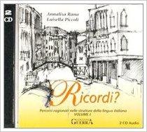 RICORDI? 1 (ATTIVIT? DI ASCOLTO + CHIAVI + CD)