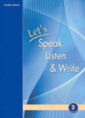 LET S SPEAK LISTEN & WRITE 3 SB