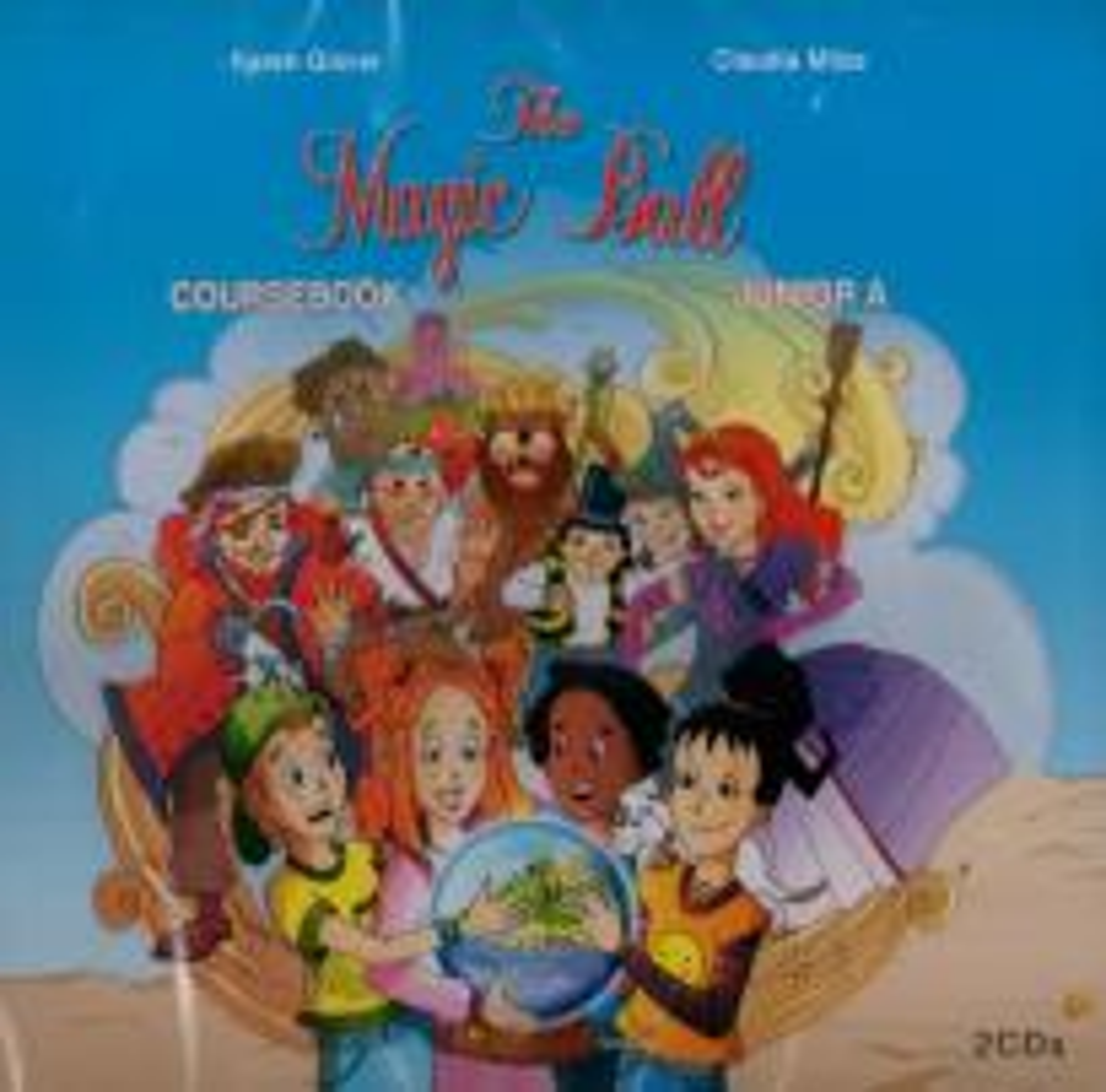 MAGIC BALL JUNIOR B CDs (2)