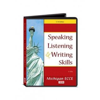 MICHIGAN ECCE SPEAKING LISTENING & WRITING SKILLS (NEW FORMAT 2013) CDs(3)