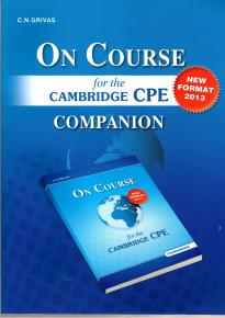 ON COURSE FOR THE CPE COMPANION 2013