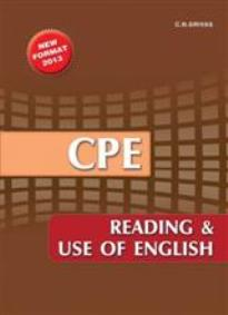 CAMBRIDGE PROFICIENCY (CPE) READING & USE OF ENGLISH