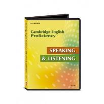 CAMBRIDGE PROFICIENCY (CPE) SPEAKING & LISTENING CDs(4) 2013