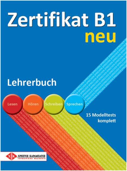 ZERTIFIKAT B1 NEU LEHRERBUCH