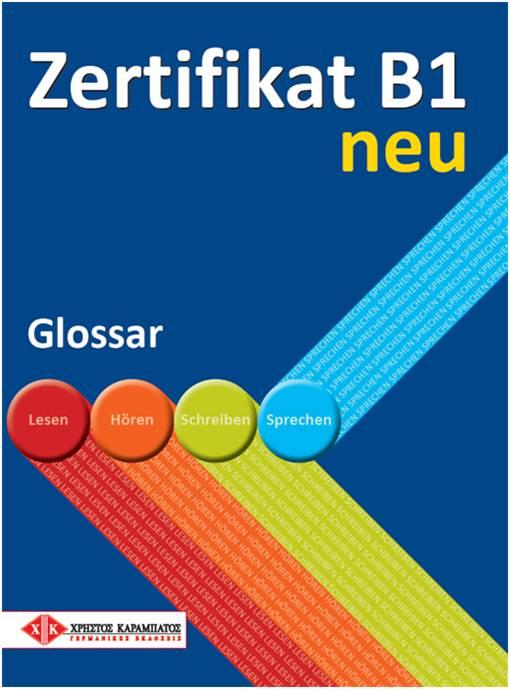 ZERTIFIKAT B1 NEU GLOSSAR 2013