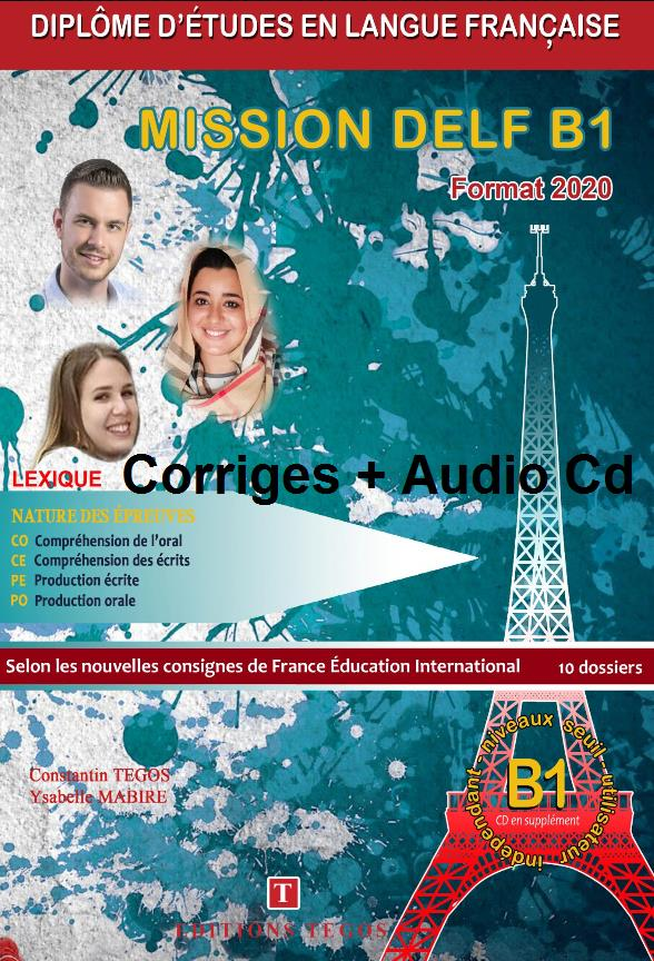MISSION DELF B1 CORRIGES + CD FORMAT 2020