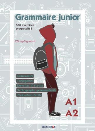 GRAMMAIRE JUNIOR A1 + A2 PROFESSEUR (+ MP3 Pack)